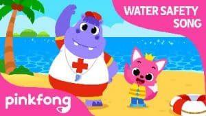 متن شعر کودکانه ایمنی در برابر آب و شنا کردن + کارتون