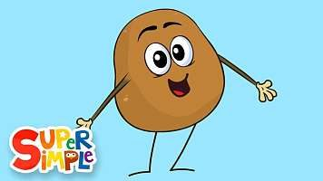 متن ترانه کودکانه انگلیسی سیب زمینی | One Potato, Two Potatoes
