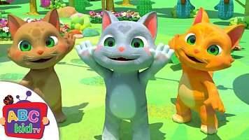 متن ترانه انگلیسی کودکانه سه بچه گربه| Three Little Kittens